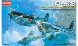 P-38J/L & F-5E Lockheed, Lightning - ACADEMY 12282 1/48