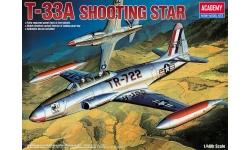 T-33A Lockheed, Shooting Star - ACADEMY 12284 1/48