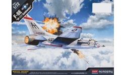 F-8E Vought, Crusader - ACADEMY 12434 1/72