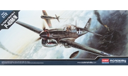 P-40M/N Curtiss, Warhawk - ACADEMY 12465 1/72