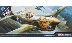 P-40E Curtiss, Warhawk - ACADEMY 12468 1/72