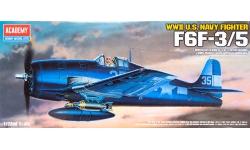 F6F-3/5 Grumman, Hellcat - ACADEMY 12481 1/72
