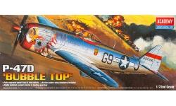 P-47D Republic, Thunderbolt - ACADEMY 12491 1/72