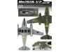 Me 262A-1а/2a Messerschmitt, Schwalbe, Sturmvogel - ACADEMY 12542 1/72
