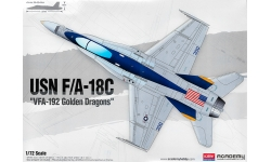 F/A-18C McDonnell Douglas, Hornet - ACADEMY 12564 1/72