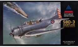 SBD-3 Douglas, Dauntless - ACCURATE MINIATURES 3411 1/48