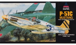P-51C North American Aviation, Mustang - ACCURATE MINIATURES 3419 1/48