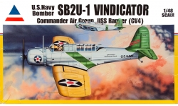 SB2U-1 Vought, Vindicator - ACCURATE MINIATURES 480200 1/48