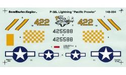 P-38L Lockheed, Lightning - AEROMASTER 148-004 1/48