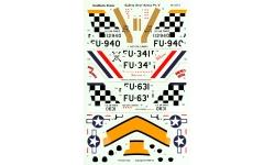 F-86E-1/F-86F-30 North American, Sabre - AEROMASTER 48-447 1/48