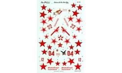 Як-1Б/Як-9/Як-9Т/Як-9У Яковлев - AEROMASTER 48-525 1/48