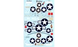 P-47C/D Republic, Thunderbolt - AEROMASTER 48-648 1/48
