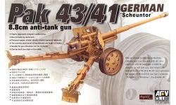 8.8 cm Pak 43/41, Krupp, Rheinmetall,  Scheunentor - AFV CLUB AF35059 1/35