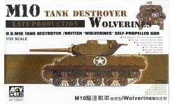 M10/M10A1 General Motors, Wolverine - AFV CLUB AF 35S07 1/35