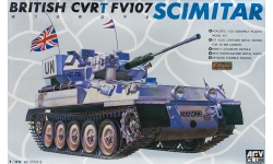 FV107 Alvis, Scimitar, CVR(T) - AFV CLUB AF35013 1/35