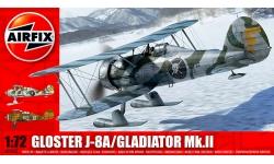 Gladiator Mk. II / J-8A Gloster - AIRFIX A02063 1/72