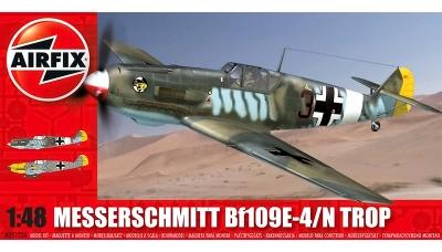Bf 109E-4/N & E-7 Messerschmitt - AIRFIX A05122A 1/48