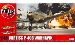 P-40B Curtiss, Warhawk, Tomahawk IIA - AIRFIX A05130 1/48