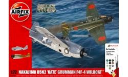 B5N2 Nakajima & F4F-4 Grumman, Wildcat - AIRFIX A50169 1/72