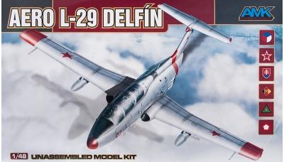 L-29 Aero, Delfin - AMK 88002 1/48
