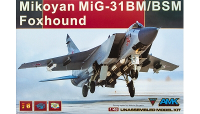 МиГ-31БМ/БСМ - AMK 88003 1/48