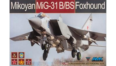 МиГ-31Б/БС - AMK 88008 1/48