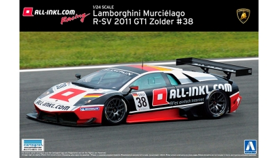 Lamborghini Murcielago R-SV GT1 - AOSHIMA 007143 SUPER CAR No. 16 1/24 PREORD