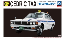Nissan Cedric 430 Sedan 200 Standard 1979 - AOSHIMA 007839 THE BEST CAR GT No. 64 1/24