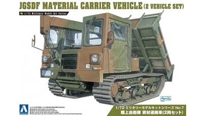 Material Handling and Carrier Vehicle Morooka - AOSHIMA 007976 No. 7 1/72
