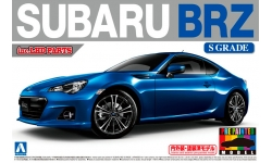 Subaru BRZ 2012 - AOSHIMA 010075 PRE-PAINTED MODEL No. 37 1/24 PREORD