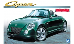 Daihatsu Copen 660 Active Top L880 2007 - AOSHIMA 015131 THE BEST CAR GT No. 29 1/24