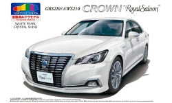 Toyota Crown Royal Saloon G GRS210/AWS210 2015 - AOSHIMA 050828 PRE-PAINTED MODEL No. SP 1/24 PREORD