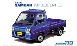Subaru Sambar Truck TT2 2011 - AOSHIMA 051559 MODEL CAR No. 4 1/24 PREORD