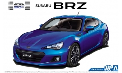 Subaru BRZ 2012 - AOSHIMA 051610 MODEL CAR No. 10 1/24 PREORD