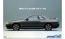 Nissan Skyline GT-R (BNR32) 1989 - AOSHIMA 051634 MODEL CAR No. 12 1/24 PREORD