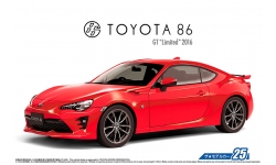Toyota 86 / GT86 (ZN6) 2016 - AOSHIMA 051801 MODEL CAR No. 25 1/24 PREORD
