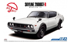 Nissan Skyline 2000GT-R (KPGC110) 1973 - AOSHIMA 052129 MODEL CAR No. 15 1/24 PREORD