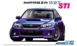 Subaru Impreza WRX STI (GR) 2007/2010 - AOSHIMA 052358 MODEL CAR No. 29 1/24 PREORD