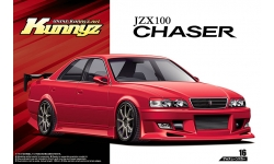 Toyota Chaser Tourer V X100 (JZX100) 1998 - AOSHIMA 053034 TUNED CAR No. 16 1/24 PREORD