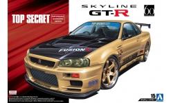 Nissan Skyline GT-R (BNR34) 2002 - AOSHIMA 053041 TUNED CAR No. 15 1/24 PREORD