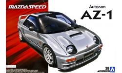 Autozam AZ-1 Mazdaspeed PG6SA 1992 - AOSHIMA 054482 TUNED CAR No. 39 1/24 PREORD