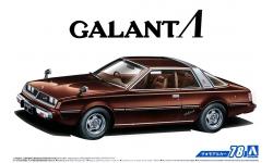 Mitsubishi Galant Λ (Lambda) Eterna (A133A) 1978 - AOSHIMA 055878 MODEL CAR No.78 1/24