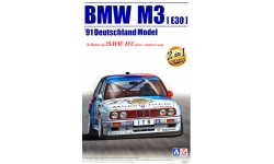 BMW M3 E30 1991 - AOSHIMA 098196 BEEMAX No. 11 1/24 PREORD