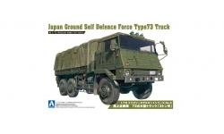 Type 73 Heavy Truck 3.5t Isuzu - AOSHIMA 002346 No. 2 1/72 PREORD