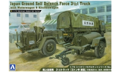 Type 73 Heavy Truck 3.5t Isuzu - AOSHIMA 002353 No. 3 1/72