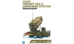 M902 Launching station & PAC-3 Patriot system - AOSHIMA 009956 No. 8 1/72
