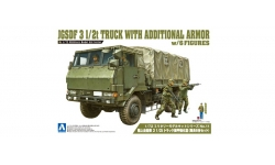 Type 73 Heavy Truck 3.5t Isuzu - AOSHIMA 012086 No. 11 1/72
