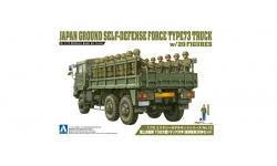 Type 73 Heavy Truck 3.5t Isuzu - AOSHIMA 012093 No. 12 1/72 PREORD