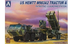 M983A2 Launching station & PAC-3 Patriot - AOSHIMA-MODELCOLLECT 097922/UA72080 1/72