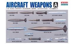 """Ракетно-бомбовое вооружение ВВС США """"воздух-земля"""". Часть A - ARII 42035-300 1/144"""